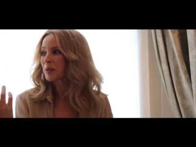Kylie Minogue en petite tenue