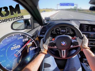 À fond de compteur... en BMW X3 M Competition