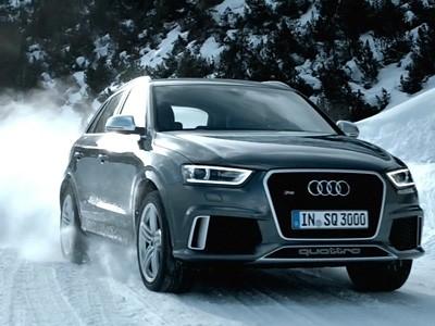 L'Audi RS Q3 met la gomme (vidéo)