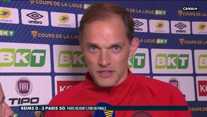 Reims - PSG : la réaction de Thomas Tuchel en vidéo !