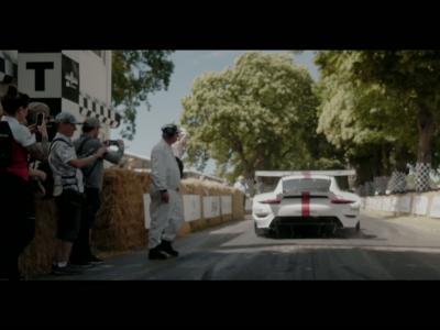 Nouvelle Porsche 911 RSR : première mondiale au Festival of Speed de Goodwood
