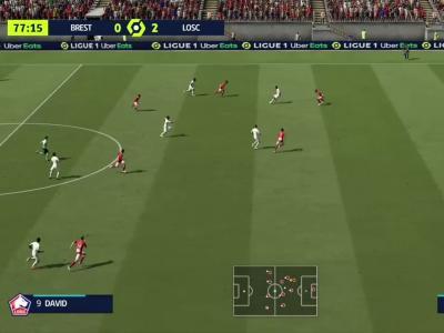 Brest - LOSC : notre simulation FIFA 21 (L1 - 10e journée)