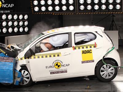 Vidéo : le crash-test de la nouvelle Toyota Aygo