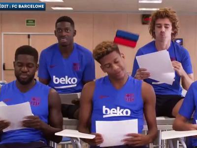 Barça : Quand les Français charrient Dembélé !