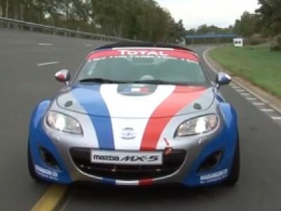 Découverte de la Mazda Open Race