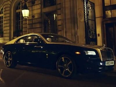 Vidéo : à bord de la Rolls-Royce Wraith