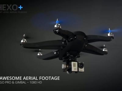 Hexo + : le tout premier drone caméra autonome et intelligent