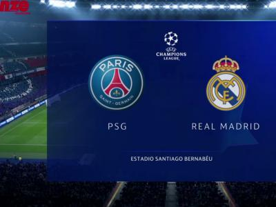 FIFA 20 : on a simulé PSG - Real Madrid de Ligue des Champions