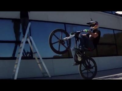 Audi présente son e-Bike avec Julien Dupont