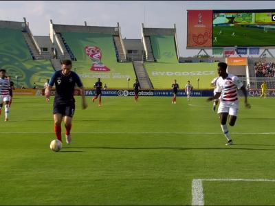CDM U20 : le but de l'égalisation d'Amine Gouiri pour les Bleus face aux Etats-Unis