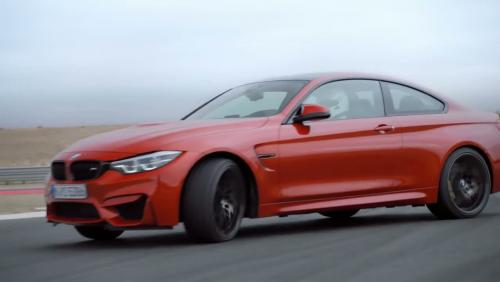 Toute la famille BMW M4 et M3 s'affronte sur la piste