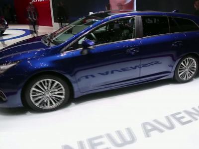 Genève 2015 | Toyota Avensisrestylée