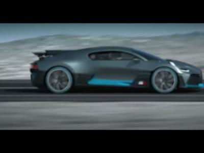 Bugatti Divo : voiture de course en tailleur