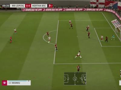RB Leipzig - Hertha Berlin sur FIFA 20 : résumé et buts (Bundesliga - 28e journée)