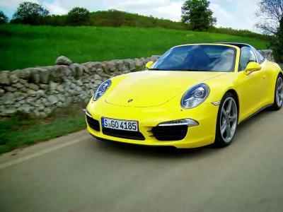 Essai Porsche 911 Targa 4S (type 991)