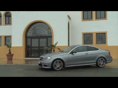 Essai Mercedes C63 AMG Coupé