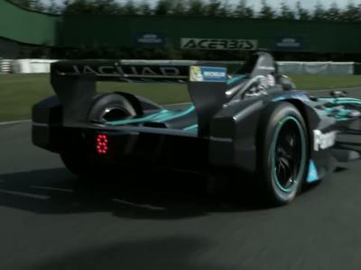 Jaguar confie sa Formule E au groupe Gorillaz