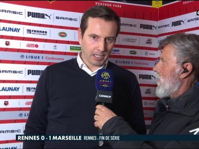 Rennes - OM : la réaction de Julien Stéphan