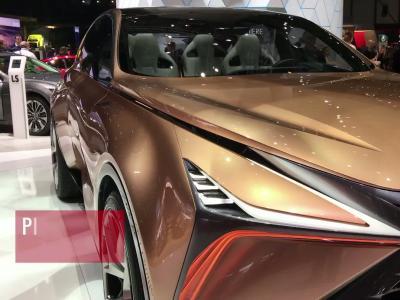 La Lexus LF-1 Limitless en vidéo depuis le salon de Genève 2018
