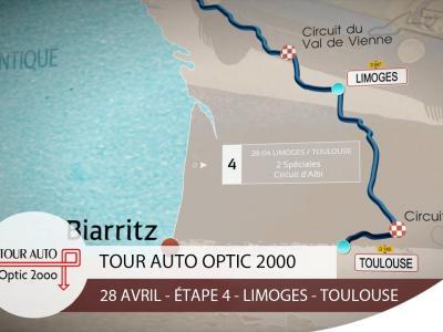 Tour Auto | Étape 4 : Limoges - Toulouse