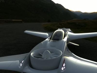 DeLorean Aerospace : la vidéo de la voiture volante DR-7-VTOL