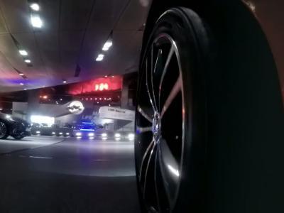 Le siège social de BMW se transforme en circuit pour drones