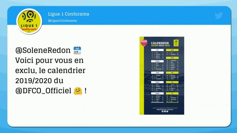 Uefa Calendrier 2020.Ligue 1 Le Calendrier 2019 2020 En Video