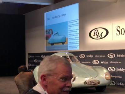 RM Sotheby's Botches Monterey 2019 1939 Porsche Type 64 Auction! $70 million to $17 million