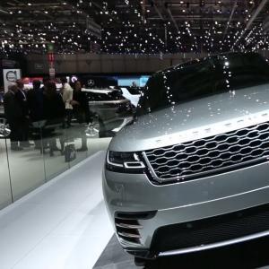 Genève 2017 : Range Rover Velar