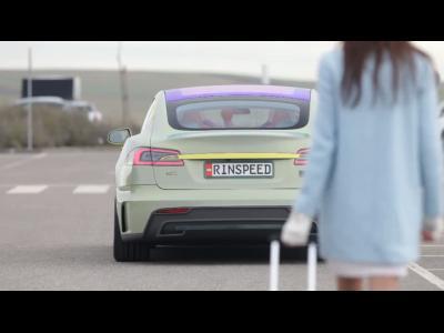 La Rinspeed XchangE autonome se dévoile en vidéo