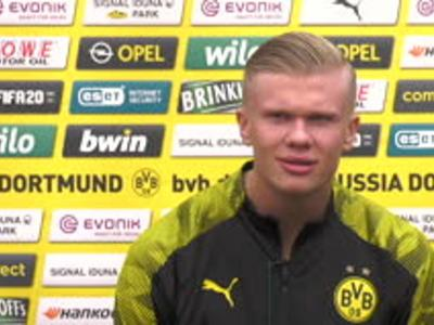 Dortmund - Haaland explique pourquoi il a préféré le Borussia à Manchester United