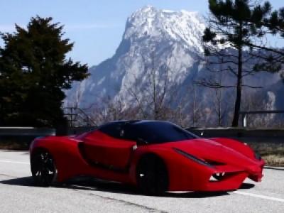 Une Ferrari FXX à pédales