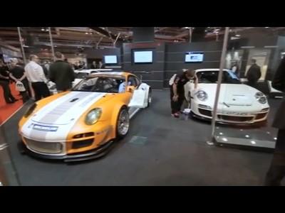 Porsche au salon Autosport de Birmingham 2011