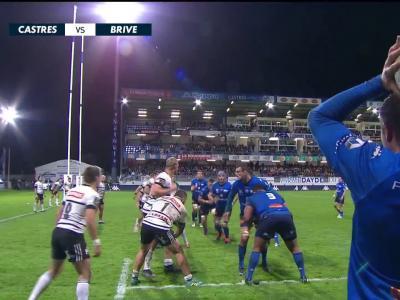 Castres Olympique - CA Brive : résumé et essais du match