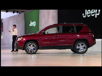 Détroit 2011 : Jeep Compass
