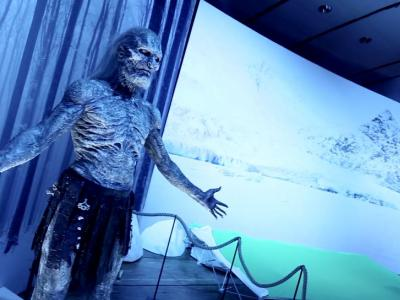 Coulisses de l'Exposition Game of Thrones