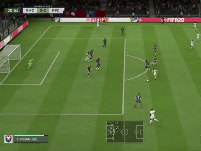 Stade Malherbe de Caen - Paris FC sur FIFA 20 : résumé et buts (L2 - 30e journée)