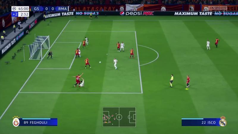 Galatasaray - Real Madrid sur FIFA 20 : résumé et buts de la simulation
