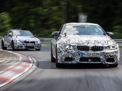 Bruno Spengler au volant des BMW M3 et M4 au Nürburgring