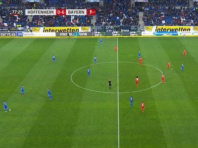 Le Bayern et Hoffenheim terminent le match en se faisant des passes !