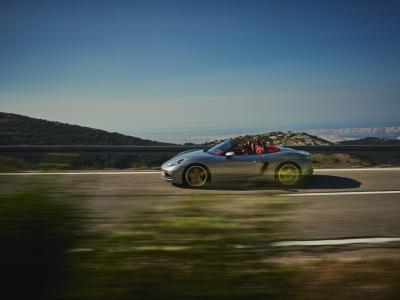La Porsche Boxster édition 25 ans en vidéo