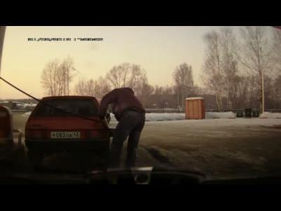 Insolite : Faire le plein à la Russe