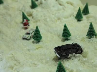 Snowkhana : les voeux originaux de Ford pour 2013