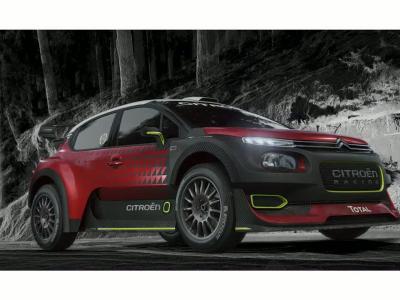 Citroën lève le voile sur la nouvelle C3 WRC