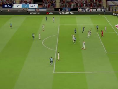 Inter Milan - SSC Napoli sur FIFA 20 : résumé et buts (Serie A - 37e journée)