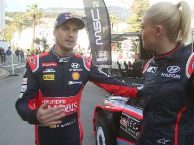 Katrina Patchett embarque à bord de la Hyundai i20 WRC