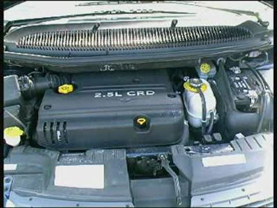 Essai Chrysler voyager 2.5 CRD ES