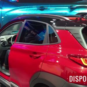 La Hyundai Kona EV en vidéo depuis le salon de Genève 2018