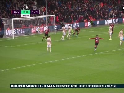 Bournemouth-Manchester United : la défaite des Red Devils en vidéo