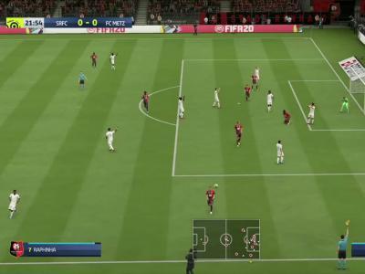 Stade Rennais - FC Metz sur FIFA 20 : résumé et buts (L1 - 33e journée)